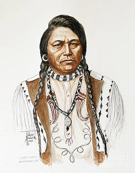 Art By - Ti   Tolpo Bader - Chief Ouray