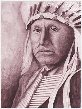 Chief Red Tomahawk by Billie Bowles