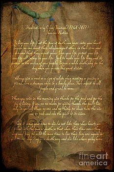 Wayne Moran - Chief Tecumseh Poem