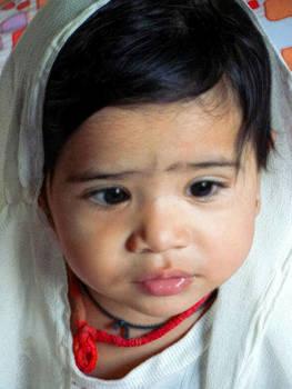 Child Portrait by Makarand Purohit