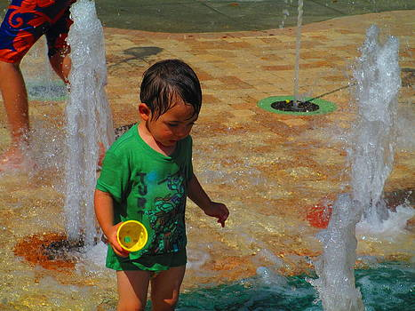 Childhood Summers by Elaine Haakenson