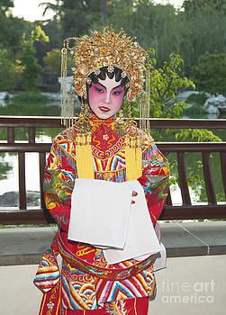 Jamie Pham - Children dressed in full traditional Chinese Opera costumes.