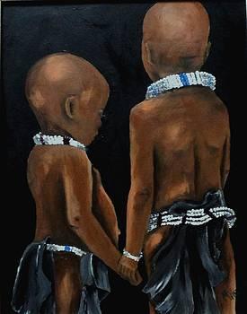 Children of Africa by Marietjie Henning