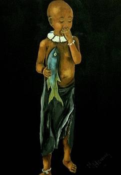 Children of Africa2 by Marietjie Henning