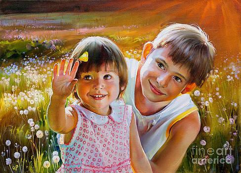 Children by Roman Romanov
