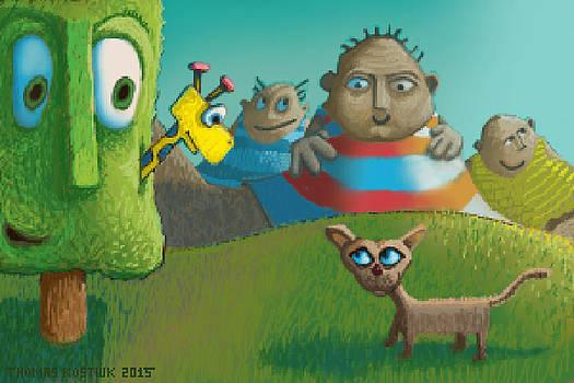 Thomas Olsen - Childrens illustration