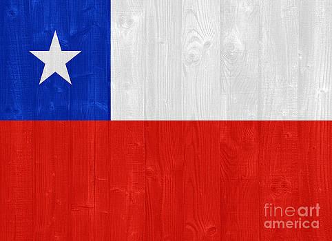 Chile flag by Luis Alvarenga