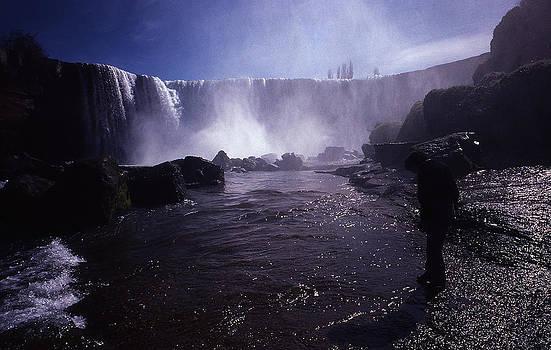 Chilean Waterfalls by Thomas D McManus