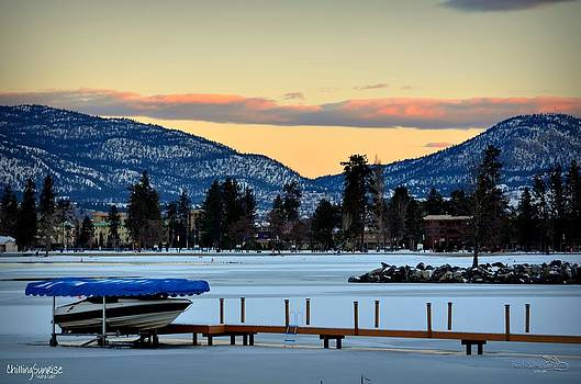 Guy Hoffman - ChillingSunrise 001 Skaha Lake 02-28-2014