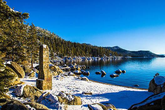 Chimney Beach - Lake Tahoe by Brandon McClintock