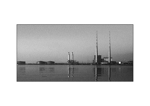 Chimneys Across Dublin Bay by Frank Gaffney