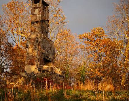 Chimneys in Mentone by Bonita Hensley