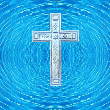 Anne Cameron Cutri - China Blue Cool Pool Cross