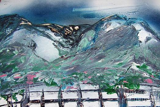 China Mountain by CA Simonson