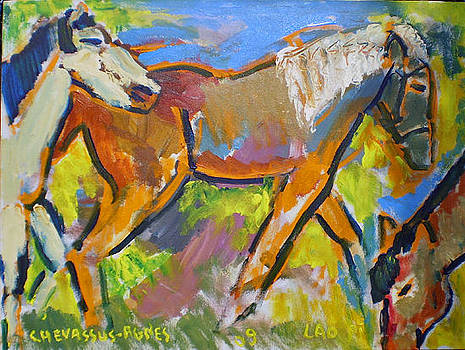 China Sun Island Free Horses  by Chevassus-agnes Jean-pierre