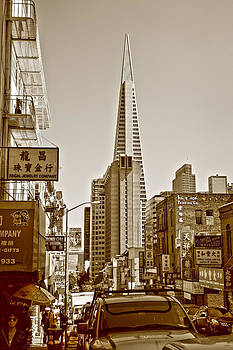 Chinatown And Transamerica  by SCB Captures
