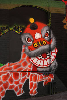 Art Block Collections - Chinatown Dragon Mural