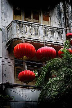 Chinatown Lanterns Bangkok by Duane Bigsby