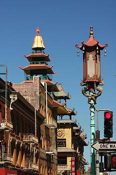 Art Block Collections - Chinatown Street Scene