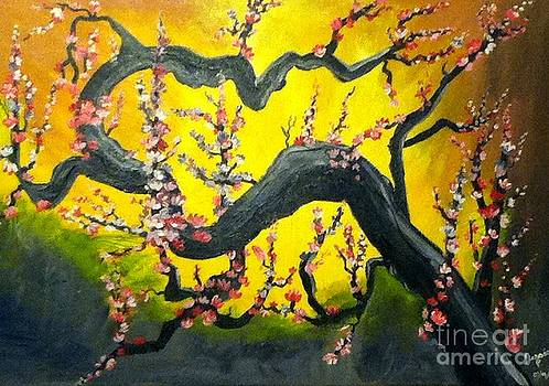 Chinese Blossom Tree by Jessica Petty