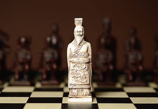 Chinese Chess King by Dick Wood