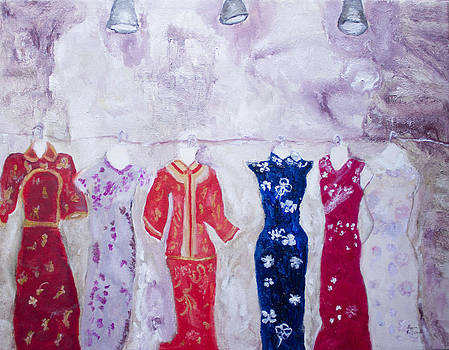Chinese Dresses by Aleezah Selinger