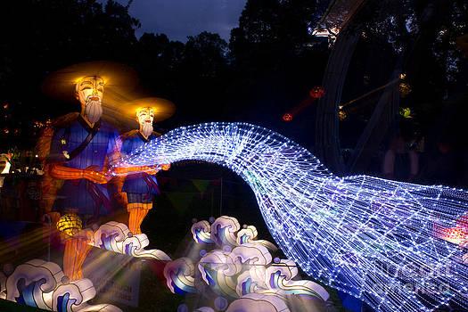 Chinese Fisherman Lantern by Mathew Tonkin Henwood