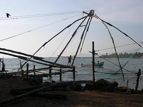 Chinese fishing net by Joe Zachariah