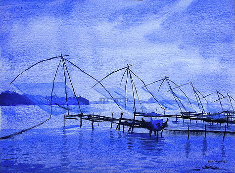 Chinese Fishing Nets by Ramesh Jhawar