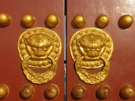 Alfred Ng - Chinese imperial door knockers