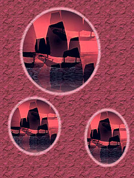 Rick Todaro - Chinese Junk Sunset
