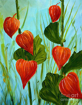 Chinese Lanterns by Claire Bull