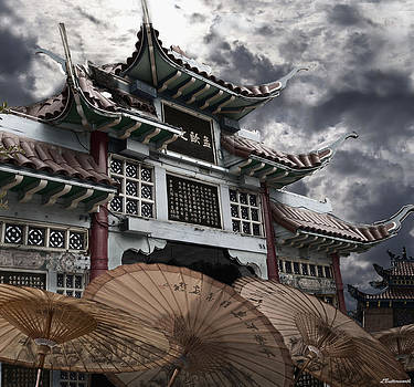 Larry Butterworth - CHINESE TEMPLE GATE