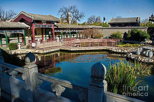 Chinese Walled Garden by Blair Stuart