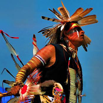 Chippewa Dancer by Dick Wood