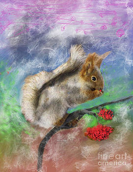 Chippy the Squirrel of Pamela by Angela A Stanton