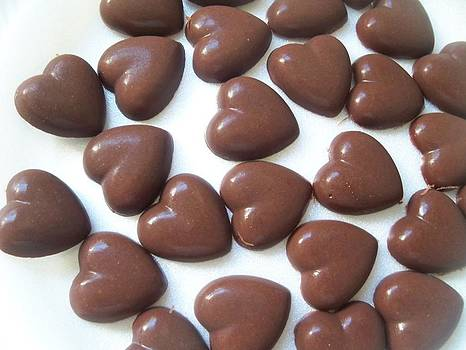 Chocolate Hearts by Anita Parker