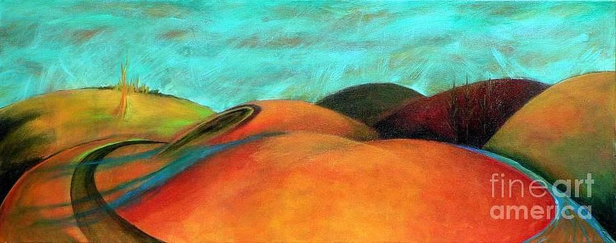 Chocolate Hills by Elizabeth Fontaine-Barr