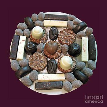 Chocolate mandala by Ausra Huntington nee Paulauskaite