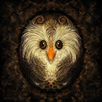 Chocolate Nested Easter Owl by Mary Eichert