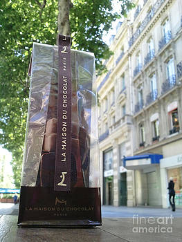 Chocolates on Champs Elysee Avenue by Amy Bynum