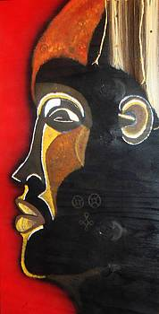 Chokwe Mask by Carla J Lawson