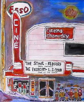 Chomedey Cinema by Michael Litvack
