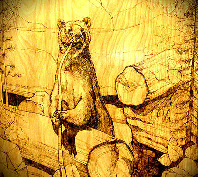 Chompin Bear by Lorna Babcock