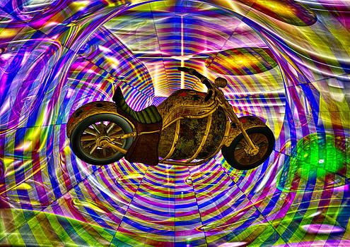 Chopper -  Time Tunnel by Udo W Klingbeil