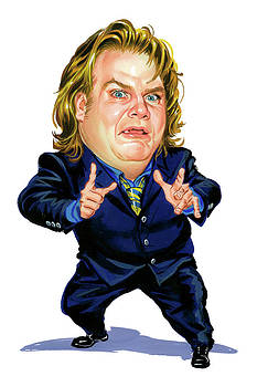 Chris Farley by Art