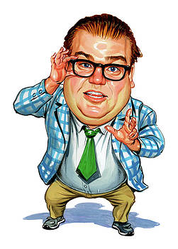 Chris Farley as Matt Foley by Art