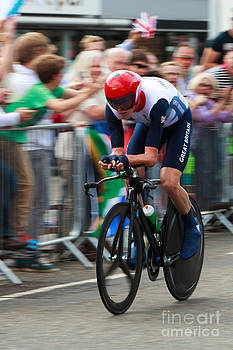 Chris Froome Tour de France winner and Bronze Medal 2012 London Olympic Games by Pete Reynolds