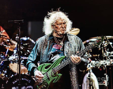 CHRIS SQUIRE from YES by Melinda Saminski