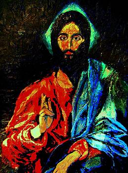Christ after El Greco by Barbara Leavitt